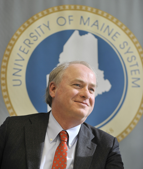James H. Page was named chancellor of the University of Maine System this morning.