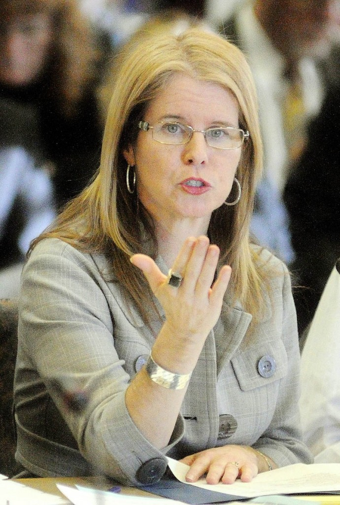 Mary Mayhew, commissioner of the Department of Health and Human Services