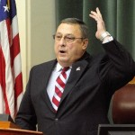 Gov. Paul LePage is unhappy with the Legislature's compromise that fixes the hole in the Department of Health and Human Services Budget while preserving key elements of the state's medical safety net.