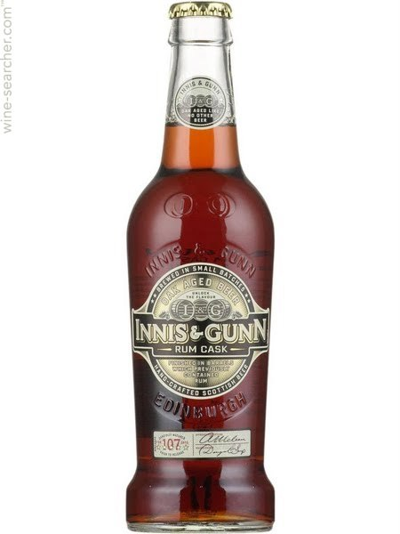 Innis and Gunn's unique Rum Cask Ale is aged in rum barrels.