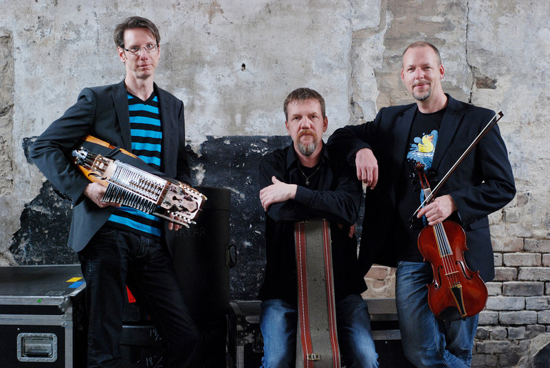 The Swedish folk group Vasen performs at USM's Hannaford Hall in Portland on Feb. 16.