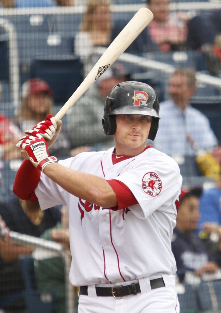 Will Middlebrooks, who made the Eastern League All-Star team last year, was rated by Baseball America as Boston's top minor league prospect.