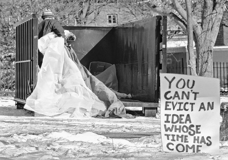 Occupy Maine got preferential treatment from the city of Portland, a reader says.