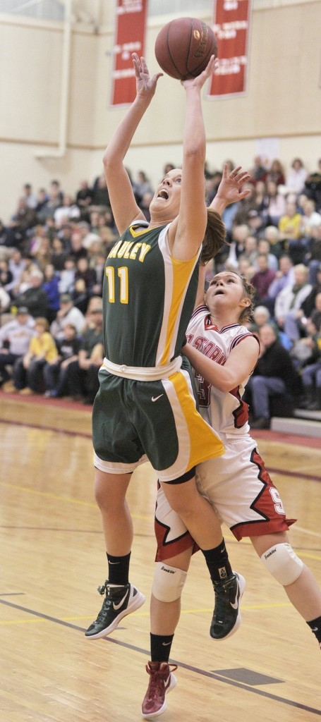 Molly Mack and her McAuley teammates will have a full week to prepare for their Western Class A quarterfinal Monday against Westbrook or Sanford.