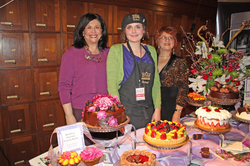 Team Whole Foods with its inspirational table display at the 2011 Signature Event.