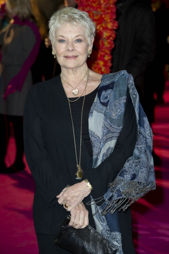 Judi Dench says she has been diagnosed with a degenerative eye condition that can cause blindness.
