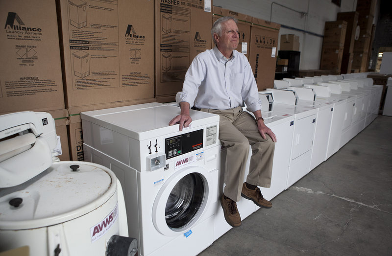 Steve Wyard, 61, a regional sales director at All Valley Washer Service in Los Angeles. expects that he and his wife will have to push back retirement for several years.