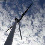 A wind turbine operates at the First Wind project in Sheffield, Vt. Scaling back the drive for renewable power would be a big change for Vermont, where state officials had touted the benefits of wind, solar, biomass and other renewable sources.