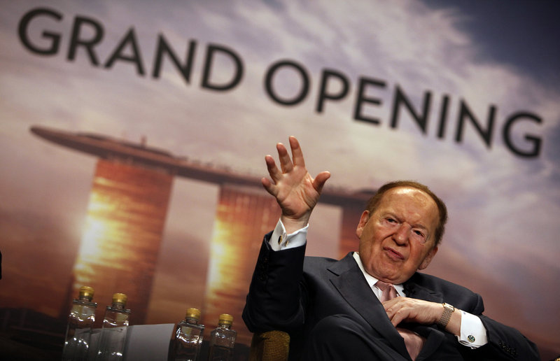 Sheldon Adelson's advisers suggest he is in no hurry to pick his 2016 favorite, but look for foreign policy – and Israel in particular – to weigh heavily on his ultimate decision.