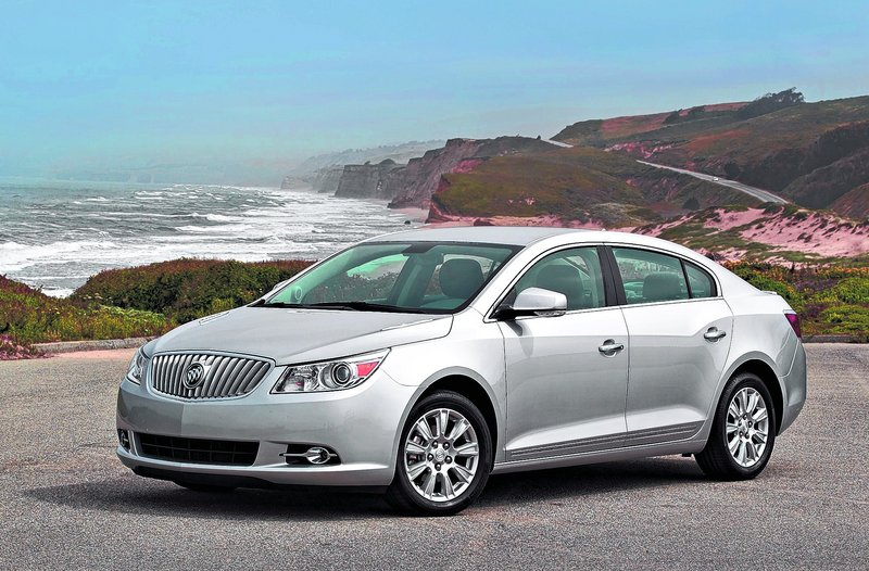 Buick's LaCrosse is a roomy, midsize near-luxury sedan that delivers the fuel economy of a subcompact.