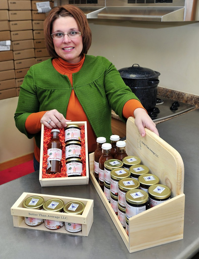 Shannon Bissonnette, with guidance from the Maine Food Producers Alliance, is dramatically stepping up production of her Better Than Average Jams.