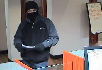 This man entered TD Bank branch on Main Street in Westbrook just after 6 p.m. Friday. Police are asking anyone with information on the man to call the Westbrook police at 854-0644 or the department's anonymous tip line at 591-8117.