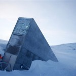 This Febraury 2008 photo showing the Svalbard Global Seed Vault in Norway. Chick peas, fava beans and other seeds from a facility in strife-torn Syria are among the 25,000 new samples being deposited this week in an Arctic seed vault built to protect food crops from wars and natural disasters, officials said. (AP Photo/Hakon Mosvold Larsen/Scanpix Norway)
