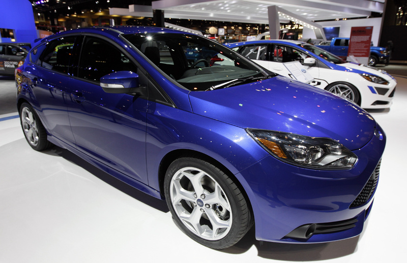 The 2013 Ford Focus ST at last month's Chicago Auto Show. The government bailout of the big U.S. automakers has proved a success.