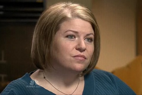 """Karilyn Bales speaks in an interview on NBC's """"Today"""" show."""