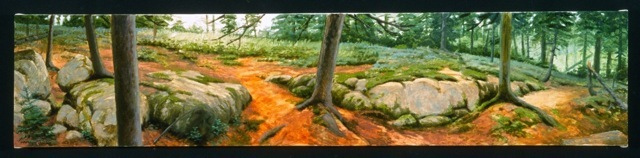 """Acadia Woods"" by James Mullen."