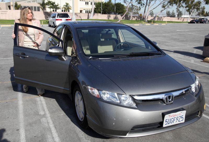 Heather Peters of Los Angeles sued Honda in small claims court, charging that her Civic Hybrid never got the gas mileage Honda claimed. The award of $9,867 was substantially more than she would have gotten in a class action suit.