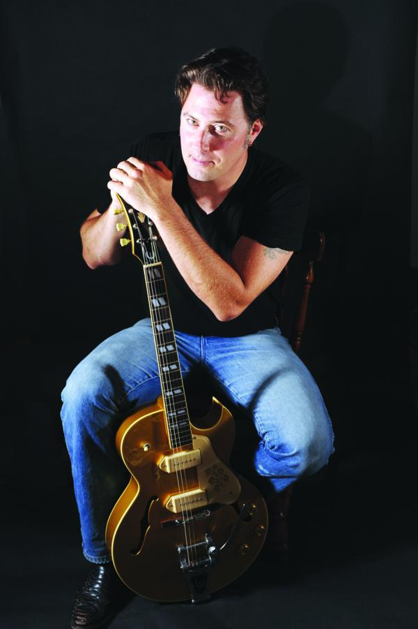 Singer-songwriter Jonathan Sarty performs with a five-piece band, The White Mountain Boys, on Friday at Jonathan's in Ogunquit.