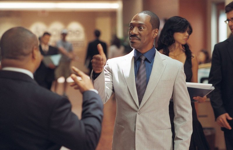 """Eddie Murphy as literary agent Jack McCall in """"A Thousand Words."""""""