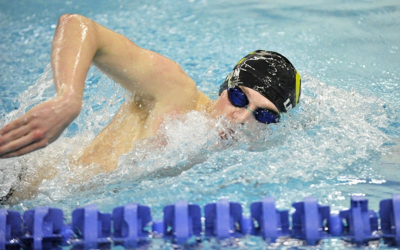 Cheverus junior Trebor Lawton won Class A titles in the 200-yard individual medley and 100 backstroke, and also helped the Stags with the 200 medley relay.