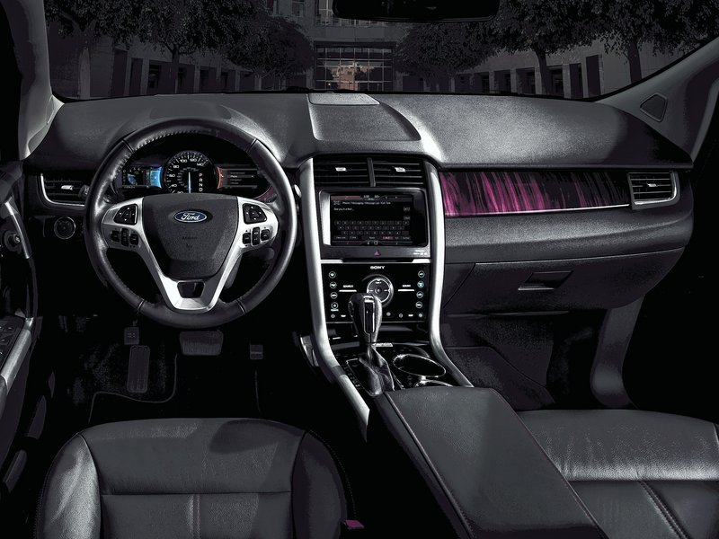 Front-row passengers will appreciate the upgraded cockpit. With the 2011 makeover, it has evolved from cheap-looking to upscale.