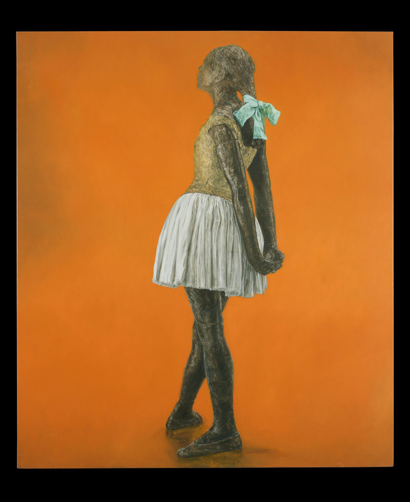 'Little Fourteen-Year-Old Dancer' by Jane Sutherland.