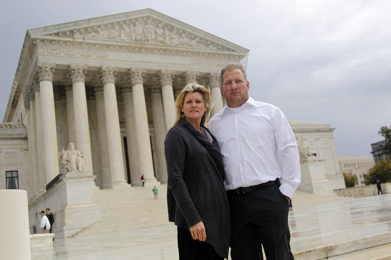 Mike and Chantell Sackett of Priest Lake, Idaho, won their case against the Environmental Protection Agency, which blocked construction of their home, in the Supreme Court.