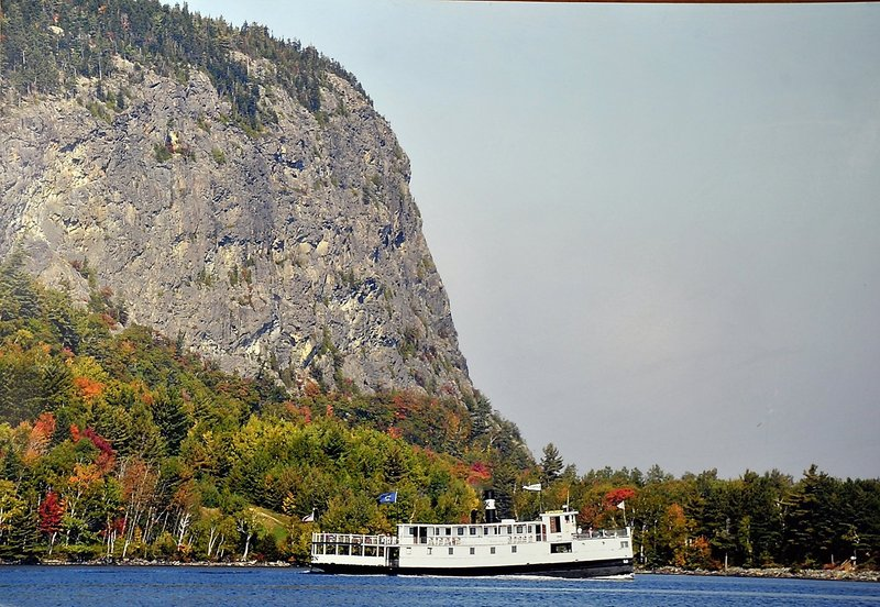 Mount Kineo on Moosehead Lake is one of many special parcels in Maine purchased with the help of the Land for Maine's Future program.
