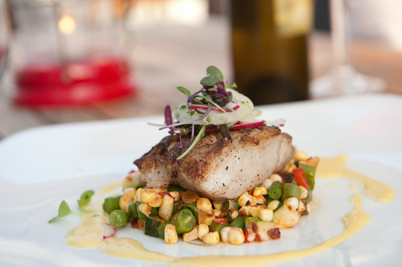 "If given the opportunity, chef Mitch Kaldrovich of Sea Glass Restaurant would serve the president an entree of fresh-caught silver hake, ""a delicious alternative to haddock or cod."""