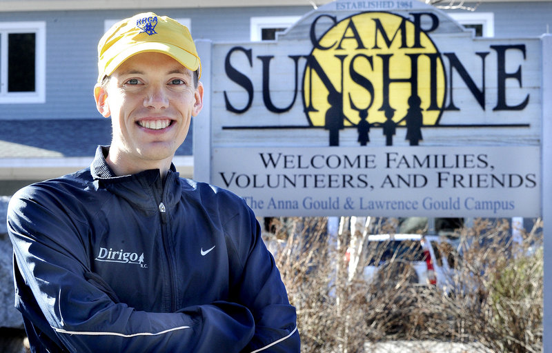 "Blaine Moore of Windham is in Day 29 of his ""1 More Mile for Sunshine"" fundraiser and plans to cap off his month of running by doing 31 miles on Saturday. He welcomes other runners because ""it's always good to finish up when you have people to run with,"" he said."