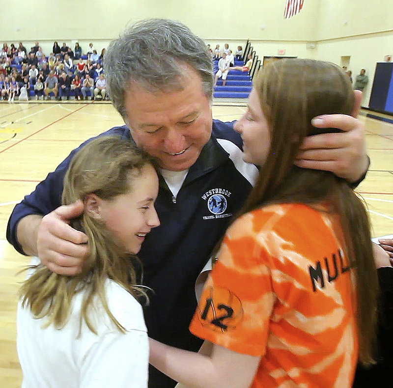 Westbrook girls have long benefited from Lou Lampron's labor of love. An annual scholarship helps a varsity player who played in the event.