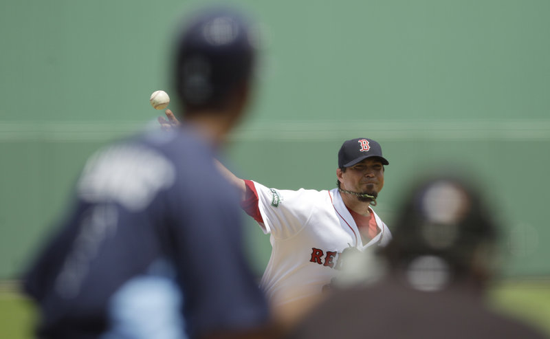 Josh Beckett made it back-to-back outstanding starts Tuesday for the Boston Red Sox, allowing one hit and striking out five over five innings in an 8-0 victory against the Tampa Bay Rays at Fort Myers, Fla. Jon Lester allowed no runs and struck out 10 in seven innings Monday.