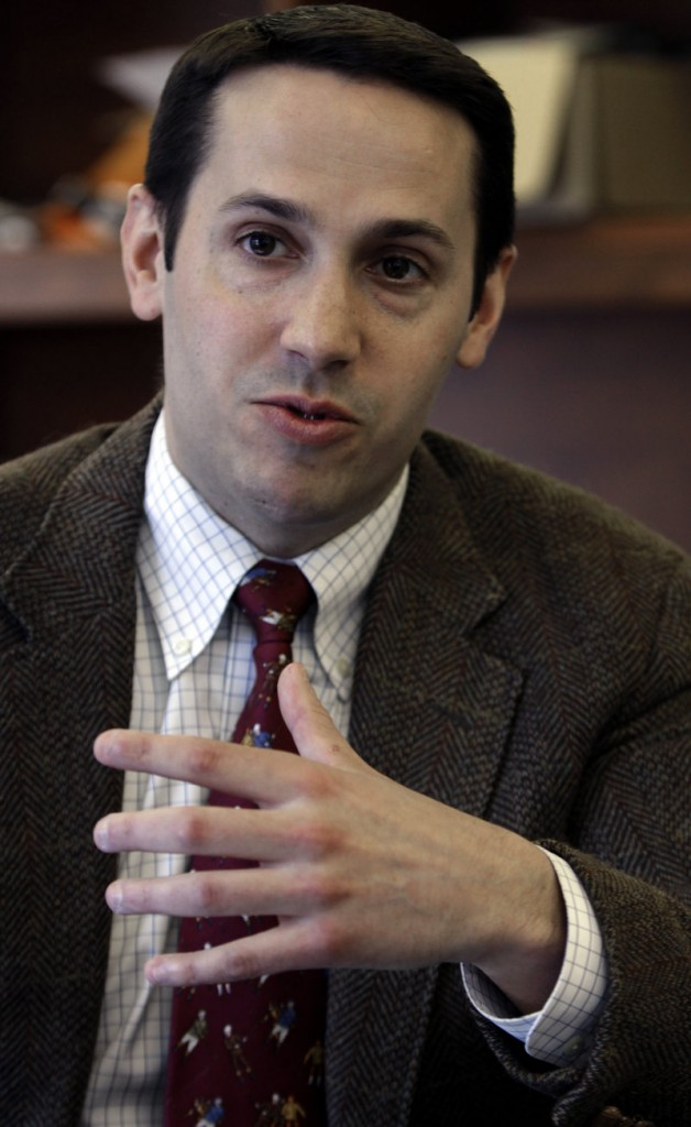 Matt McTighe is the newly named manager of a campaign to legalize same-sex marriage in Maine.
