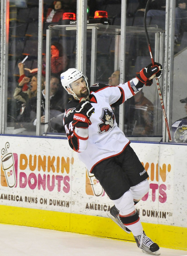 Ashton Rome stayed hot for the Pirates with a second-period goal, his seventh goal in 10 games.