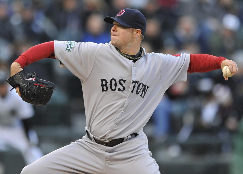 Boston Red Sox starter Jon Lester delivers a pitch against the Chicago White Sox in Chicago on Saturday. Jon Lester
