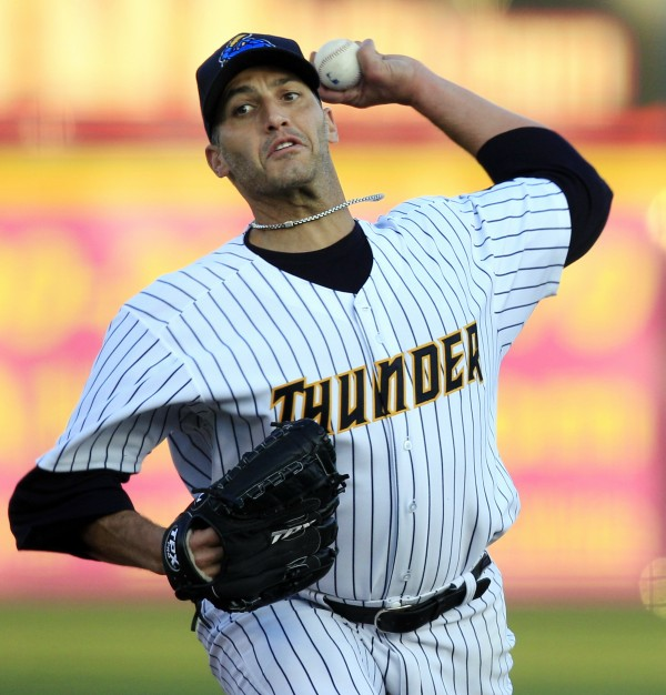 New York Yankees pitcher Andy Pettitte.