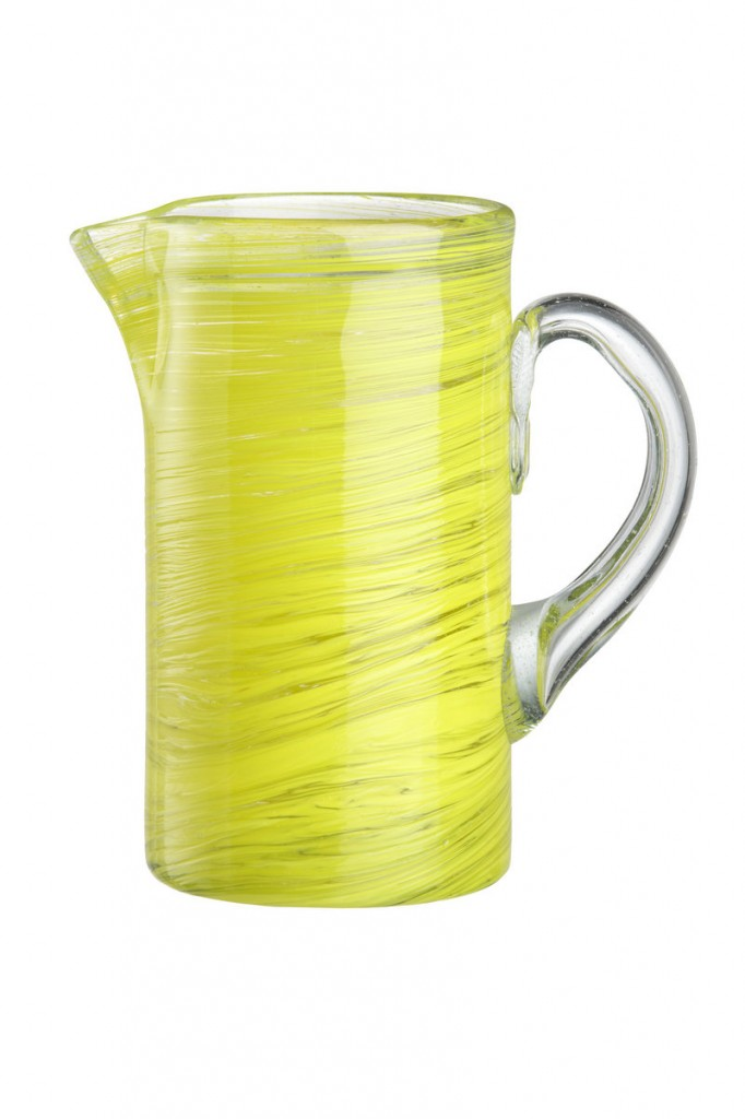 Zest pitcher from Crate & Barrel