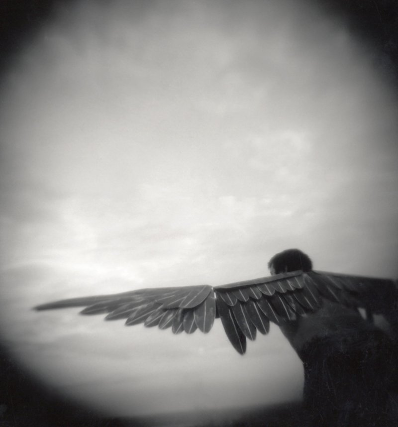 """""""Icarus"""" by Tonee Harbert, from the """"Portes"""" exhibit, will travel to Greece in June."""