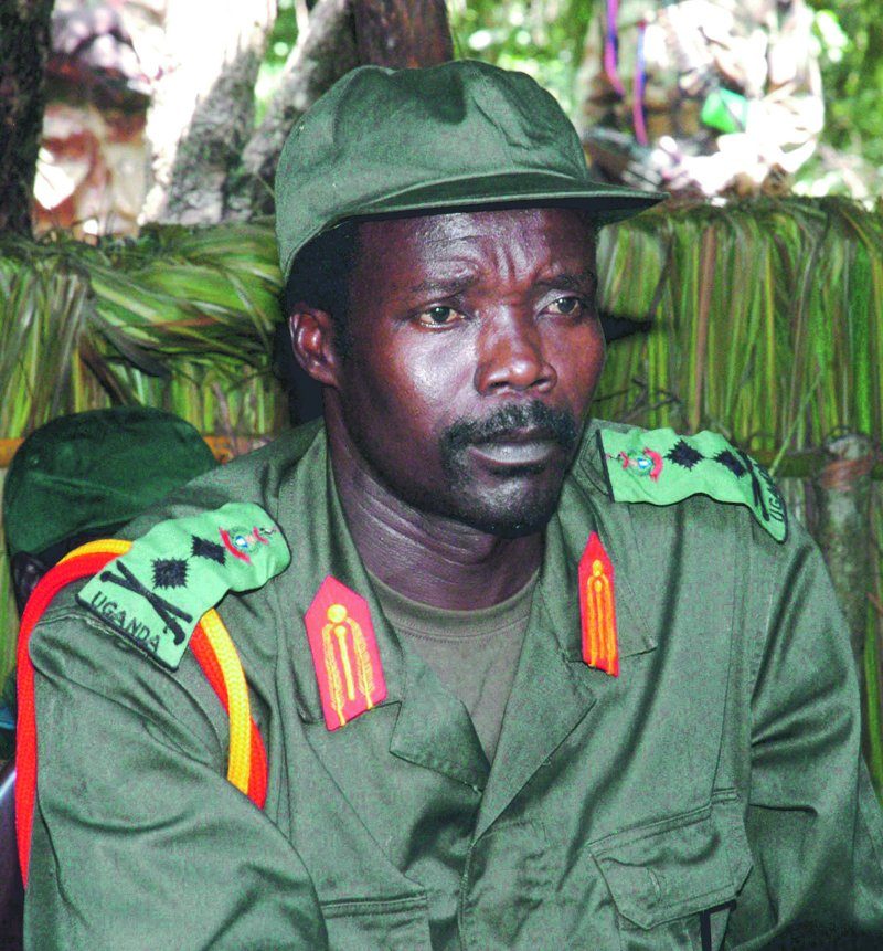 Joseph Kony, leader of the Lord's Resistance Army, in a July 2006 file photo. An Internet campaign seeks to ensure the capture of the guerrilla leader by the end of the year.