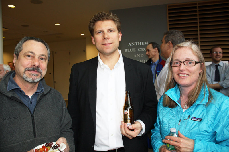 David Mele, Christian Schoewe of SMRT and Solvejg Makaretz of Troskel Architecture & Design.