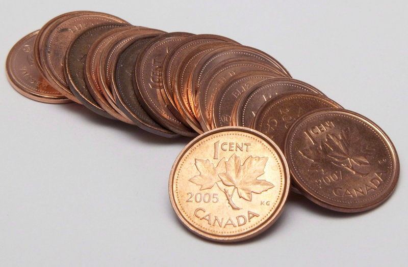 Each Canadian penny costs 1.5 cents to produce, says Canadian Finance Minister Jim Flaherty.