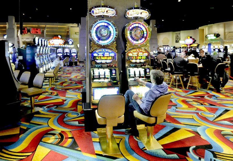 Riverboat gambler slots