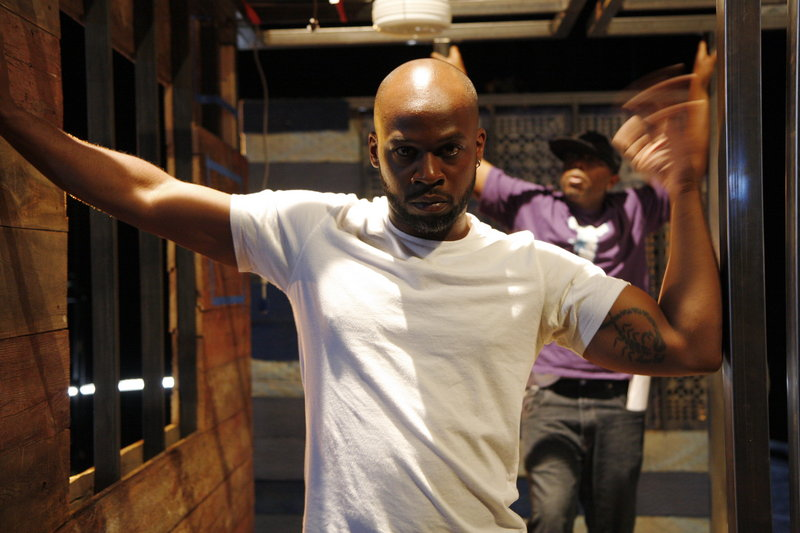 Acclaimed choreographer and spoken-word and hip-hop artist Marc Bamuthi Joseph performs in Lewiston on April 27 and 28.