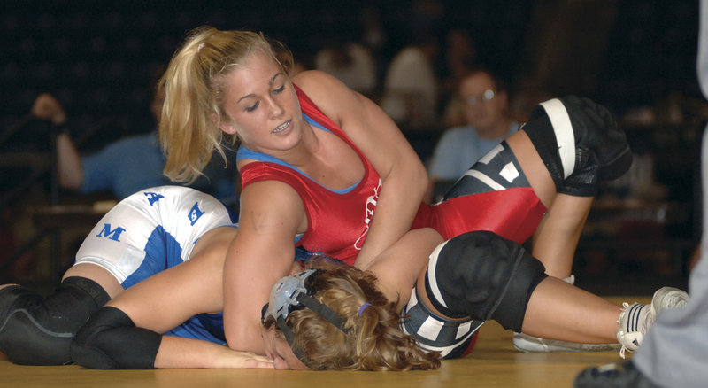 Deanna Betterman, competing in the Junior Nationals in 2005, nearly won a Maine high school championship competing against boys that year.
