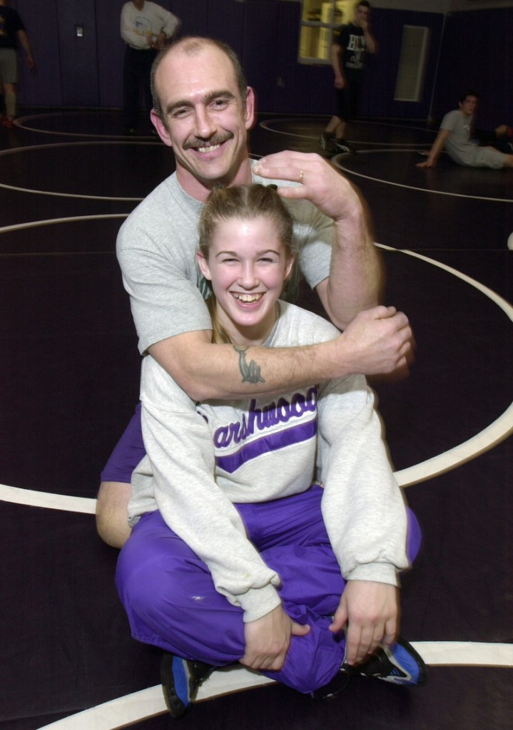 Deanna Betterman had outstanding coaching while competing at Marshwood High. Her father, Matt, runs one of the best programs in the state. Deanna and her husband are thinking of opening a wrestling gym in Maine when their own competitive days are over.