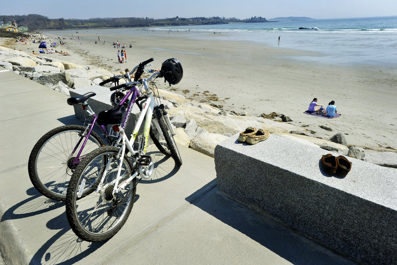 Bicycles may become a more popular method of getting to the beaches if parking prices rise in Scarborough. Town councilors are scheduled to vote May 2 on the budget with the higher fees.