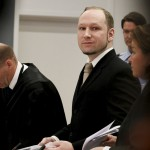 Anders Behring Breivik arrives in court Tuesday in Oslo, Norway, where the anti-Muslim fanatic who admitted to killing 77 people said he would have repeated the attack.