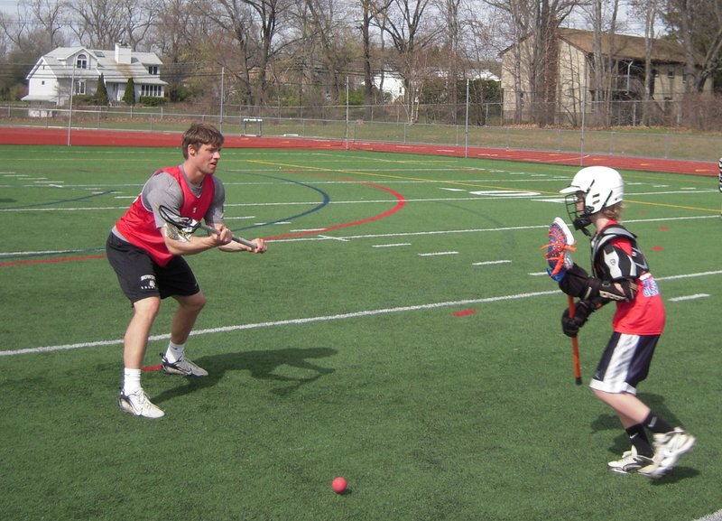 Kit Smith teaches lacrosse as the Hebron Academy coach, but may be doing a lot more soon. He's competing to become a player for the Boston Cannons of Major League Lacrosse.