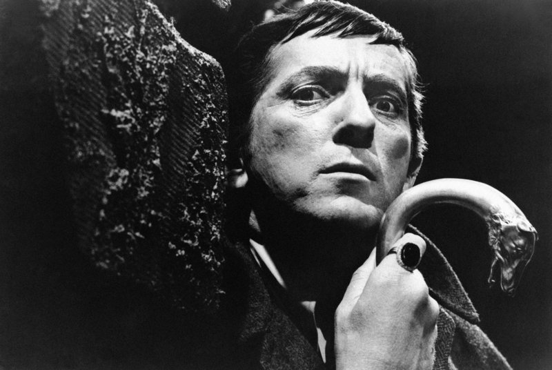 """Jonathan Frid is shown in the role of Barnabas Collins in the 1960s original vampire soap opera """"Dark Shadows."""" Frid died Friday at age 87."""