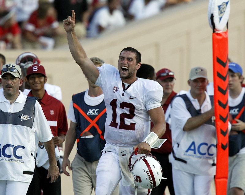 Andrew Luck has a lot in common with Peyton Manning, and that's one reason why the Indianapolis Colts will select him Thursday night with the first pick.